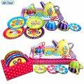 Nuevos niños de la llegada del té tetera toys for boys and girls play casa cocina cubiertos combinación paquete de regalo de cumpleaños del bebé