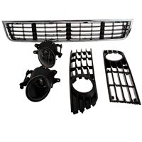 Racing Grills For Audi A4 Sedan Auto Accessory Car Front Bumper Lower Center Grill Grilles Fog