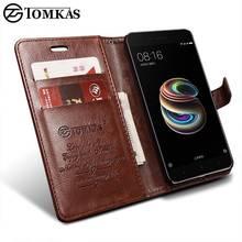 TOMKAS Fitted Cases Xiaomi Mi A1 Mi 5X Case Leather Wallet Luxury PU Filp Phone Bag Cover For Xiaomi Mi5X Mi A1 Mi5X Case Coque g case slim premium чехол для xiaomi mi5x mi a1 black