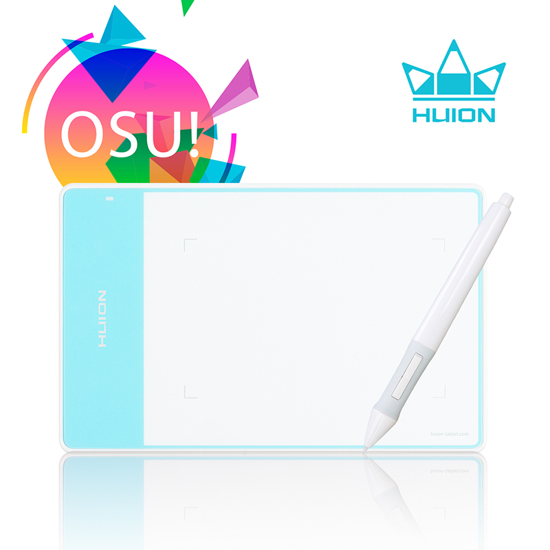 HUION 420 White 4 x 2.34 Inches Pen Tablet Professional Digital Pen Pad Signature Pad Graphic Drawing Tablet Ideal for OSU недорго, оригинальная цена