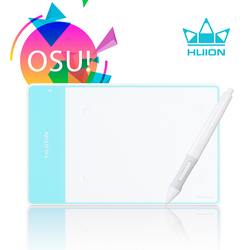 HUION 420 White  4 x 2.34 Inches Pen Tablet Professional Digital Pen Pad Signature Pad Graphic Drawing Tablet Ideal for OSU
