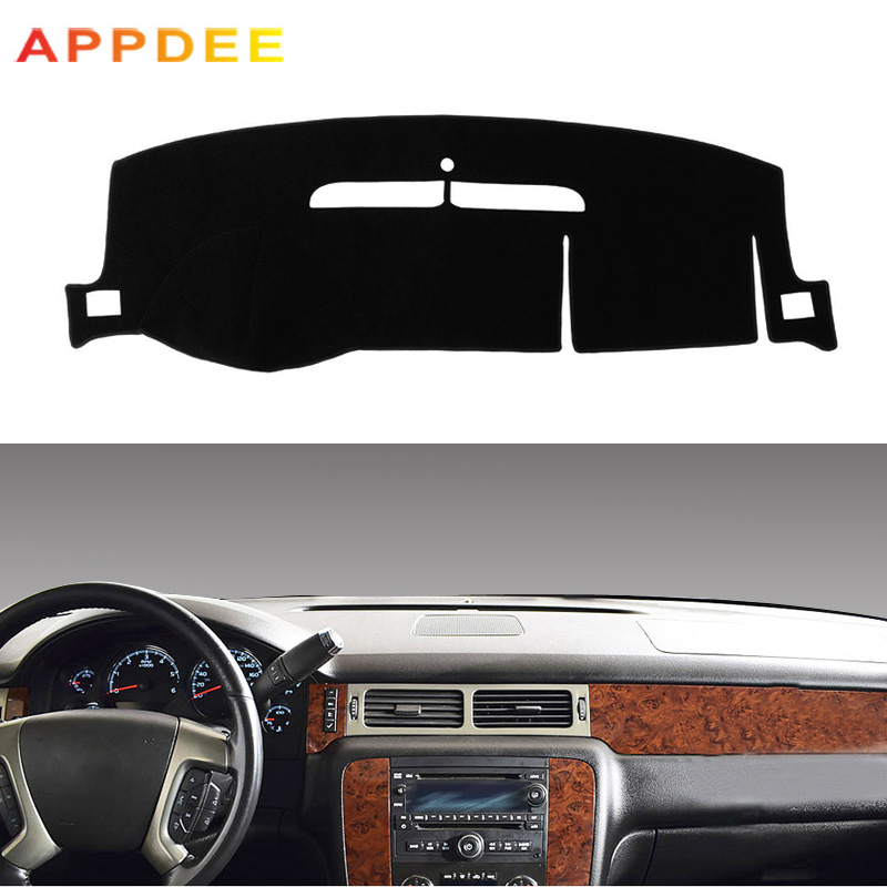 Dash Mat Dashboard Cover Dashmat Fit For Chevrolet Suburban Tahoe Avalanche Silverado GMC Yukon Sierra 2007-2013 Dash Board