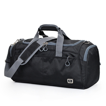 Gym Duffle Bag Waterproof Travel Weekender Bag for Men Women Overnight Duffel Bag Backpack with Shoes Compartment 54L Black xincada carry on backpack duffle bag weekend bag duffel backpack weekender bag canvas backpacks rucksack men travel back pack