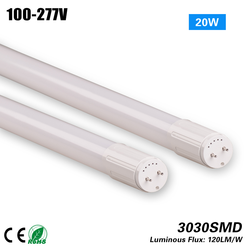 5years warranty T10 20W Tube light CE ROHS to replace indoor light 75w HPS MH 100-277VAC free shipping 5pcs 120w ufo highbay light 130lm w 100 277 vac to replace 400w hps