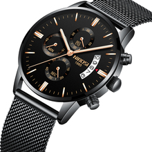 2019 New Original NIBOSI Sports Watches For Men Watch Top Brand Luxury Waterproof With Date Fashion Dress Wrist-watch Relojes