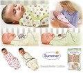 0-3 meses Del Bebé 100% Algodón de Verano swaddleme bebé recién nacido parisarc swaddle bebé manta de abrigo Envío gratis