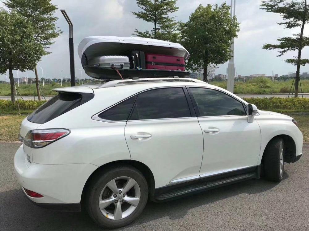 Para grande ou pequeno carro & SUV Roof Top Transportadora de Carga Carro styling de Alta Qualidade À Prova D' Água Bagagem de Viagem Caixa 380L para audi a3