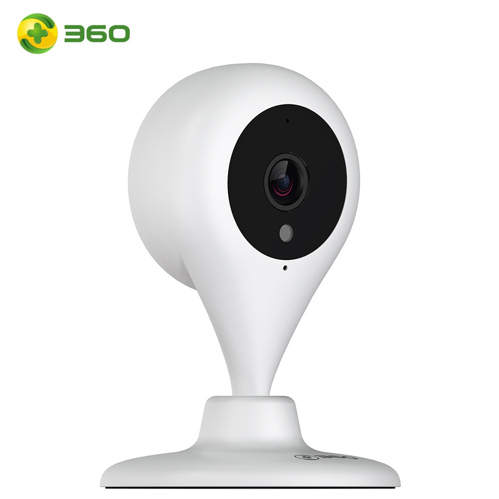 360 720P Full HD Home Camera Mini IP Camera 32G WiFi Water Drop Wireless 110 Degree Security Camera Motion Detection 2-way Audio