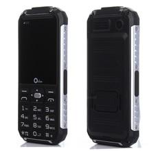 D'origine XP6000 Double Torche Robuste Mobile téléphone Métal Côté Puissance banque GSM Senior de homme téléphone portable Double sim Russe clavier