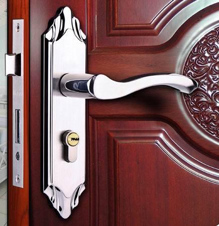 Online Shop Stainless Steel Bedroom Door Locks Wooden Doors Lock & Images of Wooden Door Locks - Woonv.com - Handle idea