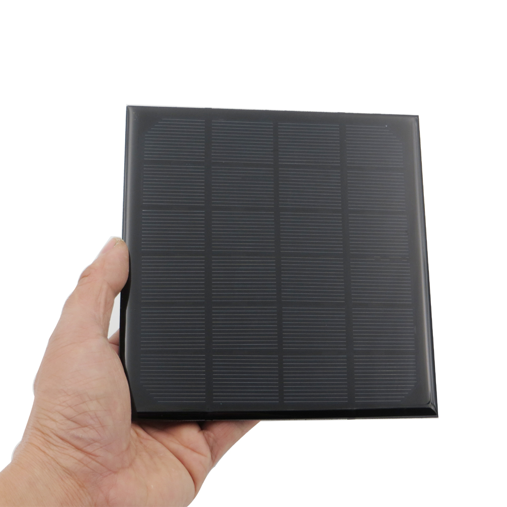 Careful 1x 9v 3w Solar Panel Diy System Mini Portable Panneau Solaire Energy Board For Led Lights Toys Battery Charger Module Accessories & Parts