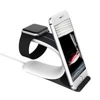 用アップル時計充電スタンドマウント充電ドック用iphone 6 6 sプラスipad携帯電話タブレットスマートフォンデスクホルダ