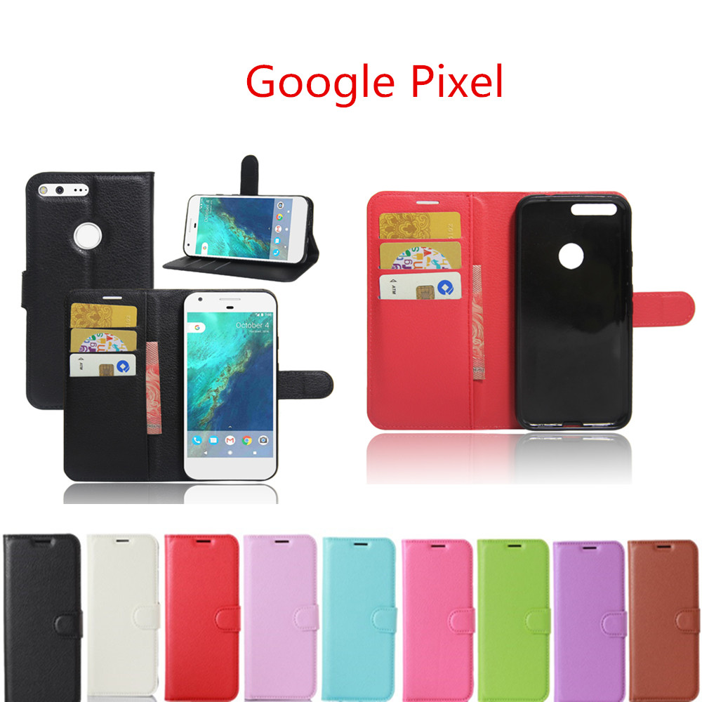 For Google Pixel 5.0Inch Case Wallet Style PU Leather Mobile Phone Protective Cover For HTC Google Pixel Phone Case