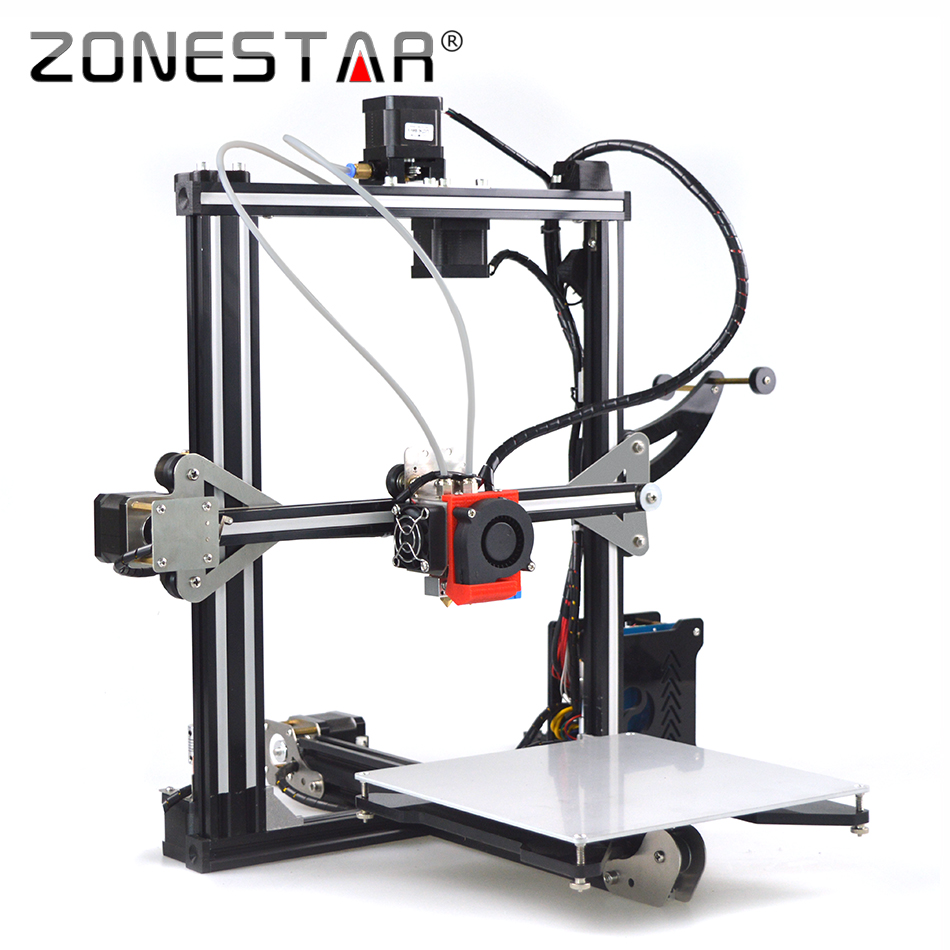 Newest Fast Pre-Assembled Auto Leveling Full Metal Reprap Prusa i3 3D Printer DIY Kit Laser Engraver Free Shipping SD Card LCD 2017 newest tevo tarantula prusa i3 3d printer diy kit