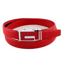 Women's Business Leather Cowhide Belt