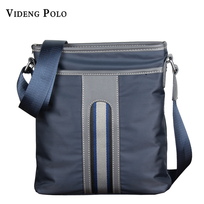 VIDENG POLO New Brand Men Messenger Bags Casual Multifunction Small Travel Bags Waterproof Shoulder Military Crossbody Bags 2016 new fashion business bags brand polo men s travel shoulder bags small messenger bags men s crossbody bags m208