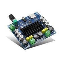 TDA7498 Amplificador Do Bluetooth Placa De Áudio 2x50 W Módulo Apoio TF Cartão AUX Estéreo Amplificadores de Potência Digital Para Casa teatro