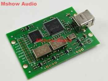 Amanero USB I2S module PCM combo384 module DSD512 Upgraded with Crystek CCHD-957 - DISCOUNT ITEM  0% OFF All Category