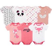 Markalar yeni 2018 mayo bebek kız yaz footies yenidoğan giysileri bebek giyim ropa bebe recien nacido kostümleri