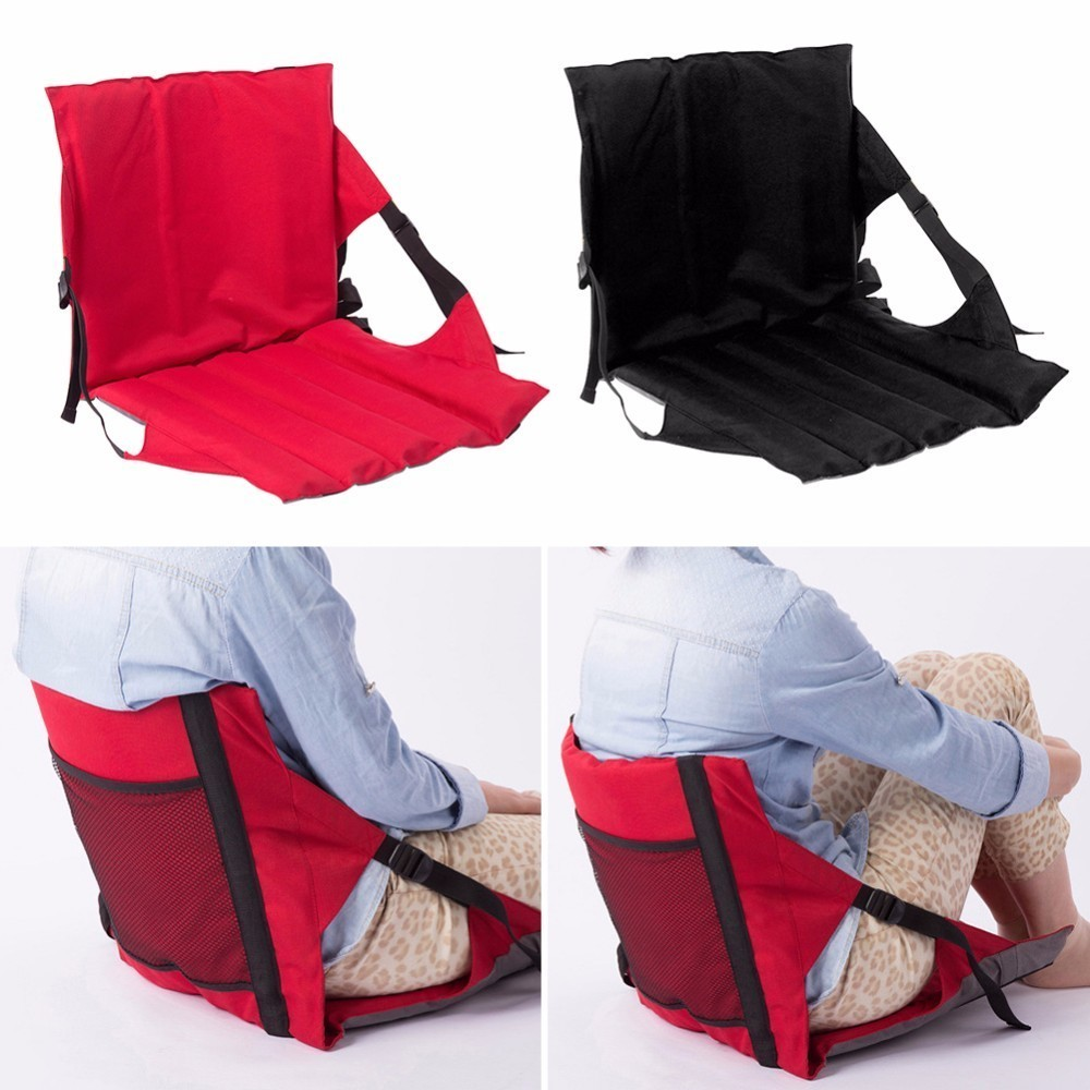 Chair Seat Pads Cushion Indoor/Outdoor Garden Patio Home Chair Seat Cushion With Backrest Folding ChairSeat Soft Pad