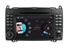 Hot! 2 din 7″ Car Radio DVD Player for Benz B200 A-W169 B-W245 Viano Vito With GPS Navi 3G Bluetooth IPOD TV RDS AUX IN