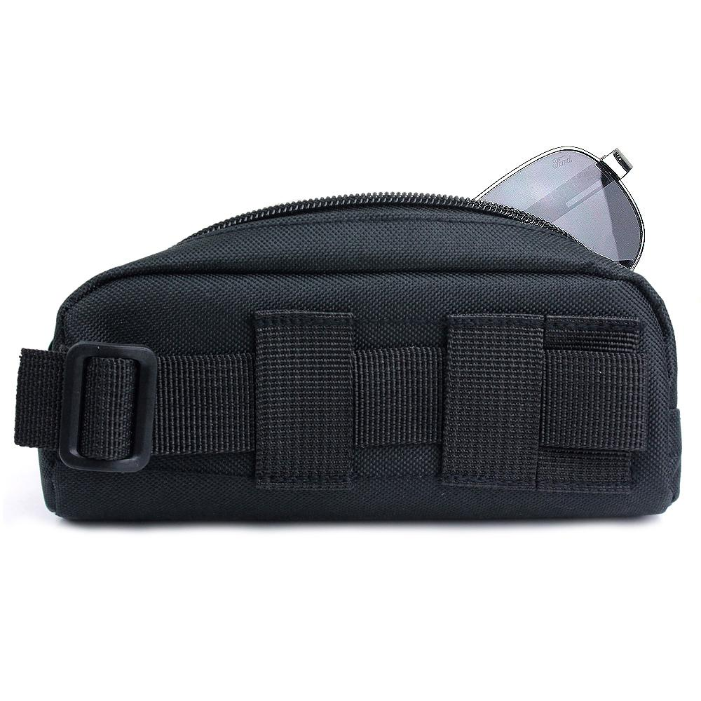 Vapanda Portable Tactical Molle Sunglasses Carry Case Eyeglasses Bag Outdoor Sport Glasses Pouch