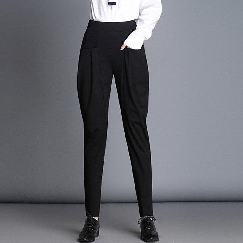 Women High Waist Fashion Pant Elegant Hip Hop Vogue Pant Ladies Pantalon Femme Harajuku Trousers Streetwear Dames Kleding