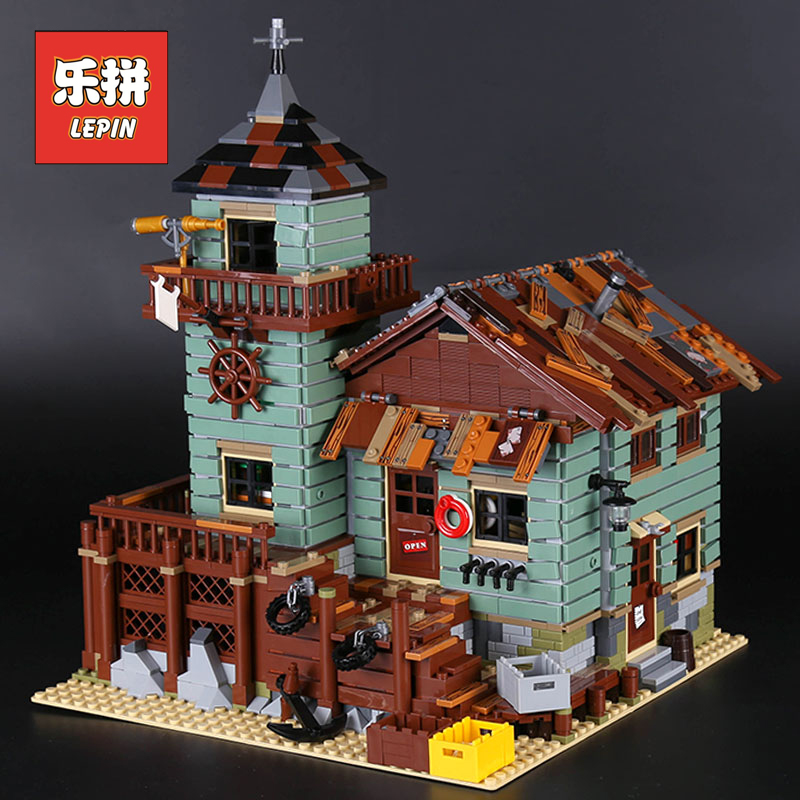 IN STOCK Lepin 16050 2109Pcs MOC Series the Old Finishing Store Children Educational Building LEPIN Blocks Bricks Toys Model in stock lepin 02012 774pcs city series deepwater exploration vessel children educational building blocks bricks toys model gift