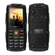 Vkworld Новый V3 IP68 Водонепроницаемый Мобильный Телефон Длительным Временем Ожидания 2.4 Дюймов Три Sim-карты 3000 мАч Большая Батарея 2-МЕГАПИКСЕЛЬНАЯ Камера мобильный телефон