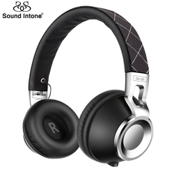 Sound Intone CX-05 Noise Isolating Headphones with HiFi Metal for computer Headphone with Mic Gaming Headset for Phone Computer