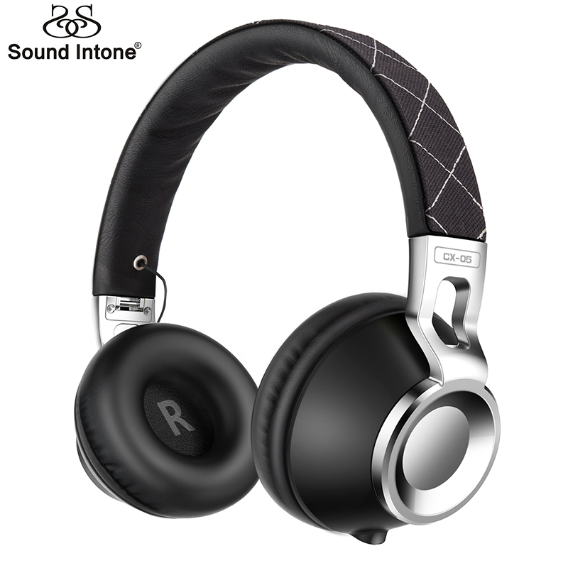 Sound Intone CX-05 Wired Headphones with HiFi Metal for computer Headphone with Mic Gaming Headset for Riding Hiking Headsets