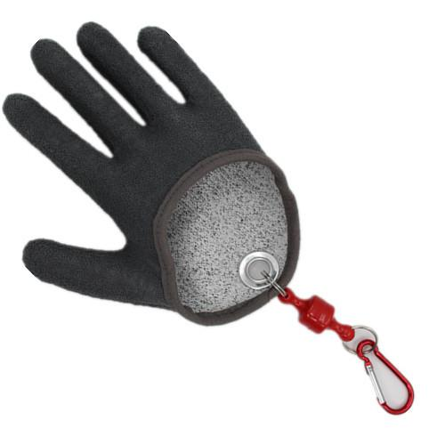 1 Pc Fishing Gloves Prevent Stabbed Rubber Catch Fish Gloves Anti-skid Fishing Gripper With Elastic String And Carabiner Back To Search Resultshome