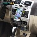 Suporte do telefone do carro com USB carregador de suporte para o iPhone 6 e 6 S 6 5S 5C 5 180 grau de rotação carregador berço