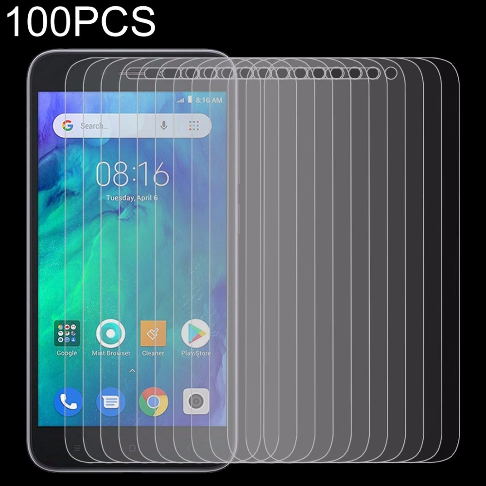 100 PCS 0.26mm 9H 2.5D Tempered Glass Film for Xiaomi Redmi Go100 PCS 0.26mm 9H 2.5D Tempered Glass Film for Xiaomi Redmi Go