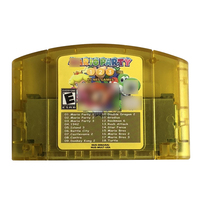 Video Game Cartridge Card 18 IN 1 forN64 Console System English Language US NTSC Version Mari Party 1 2 3 Aggregation +15