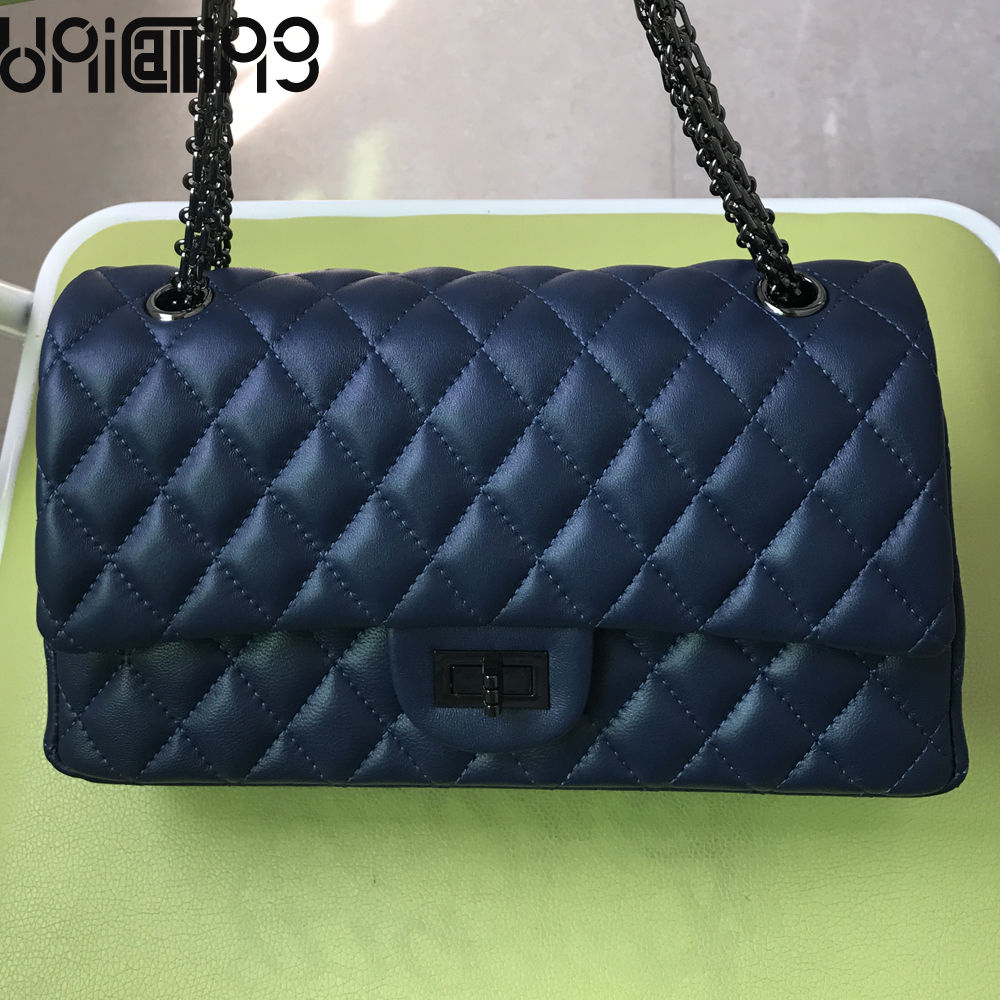 UniCalling New style Sheepskin Diamond lattice women bag All-match mini chain crossbody bags for women cow leather shoulder bags new style fashion genuine leather women bag retro cow leather small shoulder bags top grade all match mini women crossbody bag