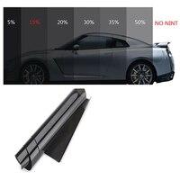 새로운 50*3m 35% vlt 블랙 프로 자동차 홈 유리 창 색조 tinting 필름 롤 빛 전송 vlt 두꺼운 anti-wear 태양 필름