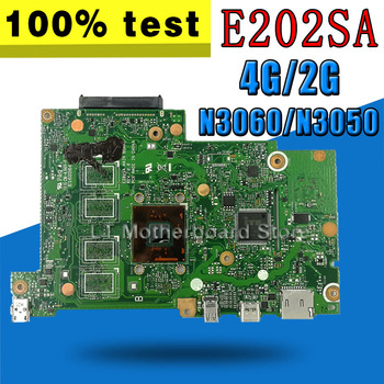 N3050/N3060-CPU 2GB/4GB-RAM E202SA mainboard For ASUS E202S E202SA laptop motherboard Tested Working