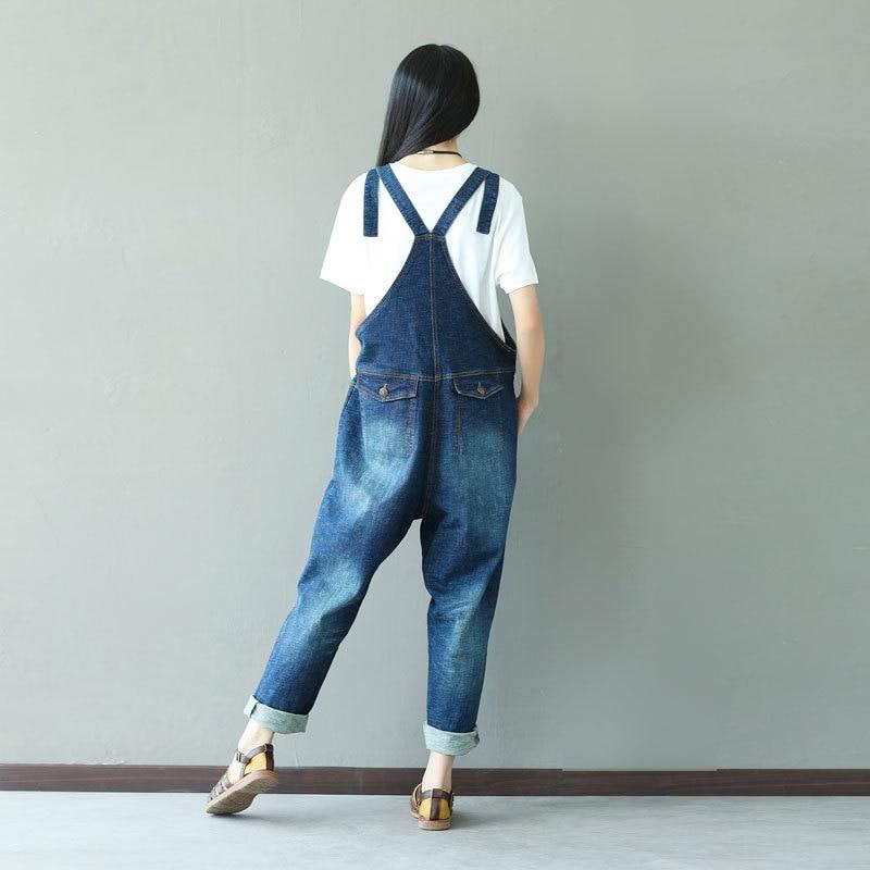 Haute 1 Lâche Justaucorps Salopette Denim Taille La Jeans Plus Occasionnel Femme Barboteuses Combinaison Pour Les Femmes Élégant 1vpKqdp