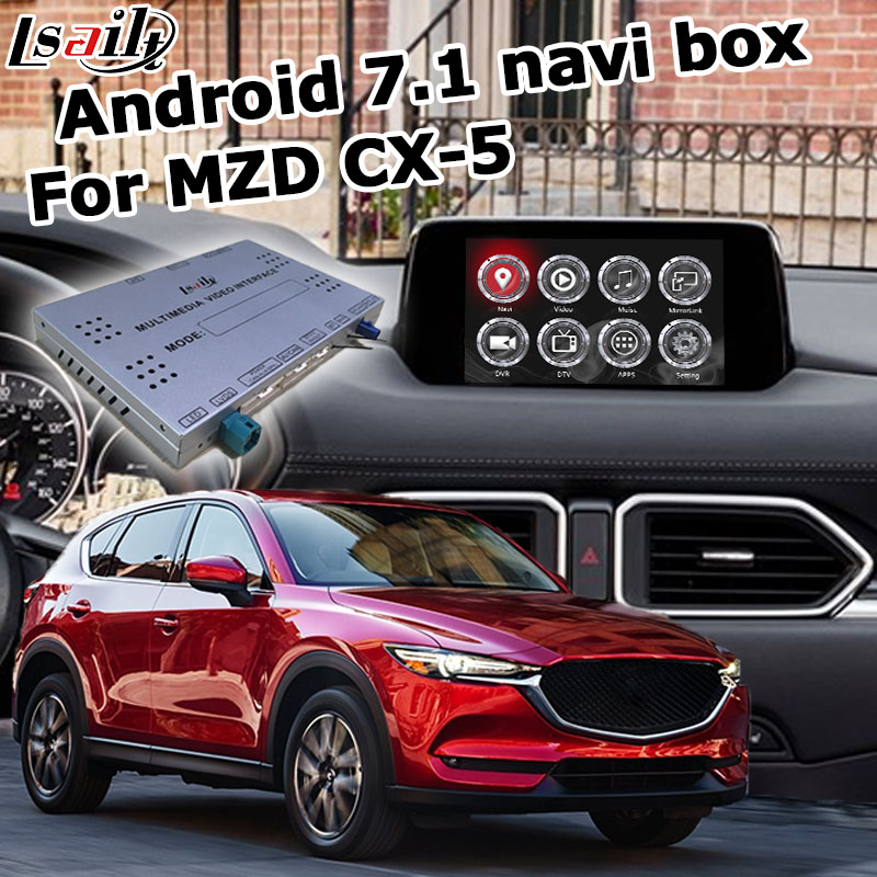 Android / carplay interface box for new <font><b>Mazda</b></font> CX-5 <font><b>CX5</b></font> with GPS <font><b>navigation</b></font> youtube video interface box waze yandex by Lsailt image