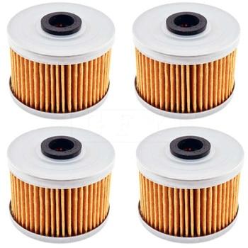 Para Gas 450 Wild HP (ATV) 2003, 2004, 2005, 2006, 2007, 510 CE/SM 2009 Hisun ATV 450 HS ATV-2 filtro de aceite para motocicleta