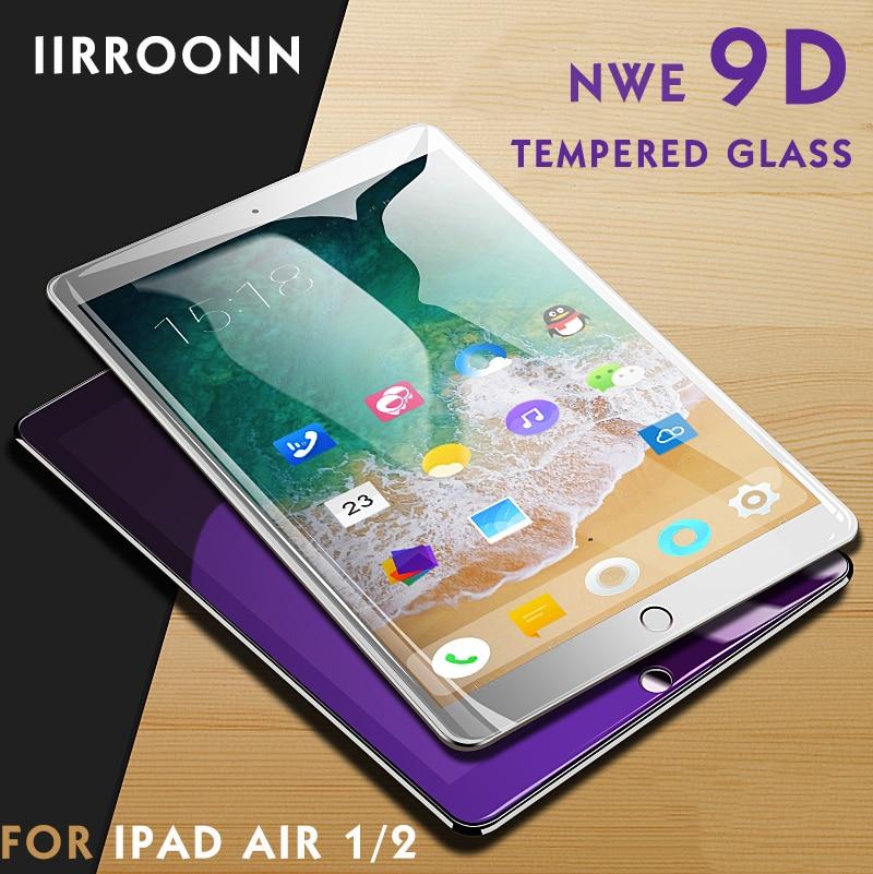 Tempered Glass Screen Protector Guard 2017 Anti Blue Light 2X iPad Pro 10.5