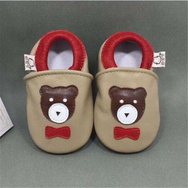 Марка 100% Натуральная Кожа Ребенка Мокасины Детская Обувь для Девочек Мальчик Первые Ходунки Детские Малыша Prewalker Коляску Обувь sapatos infantil