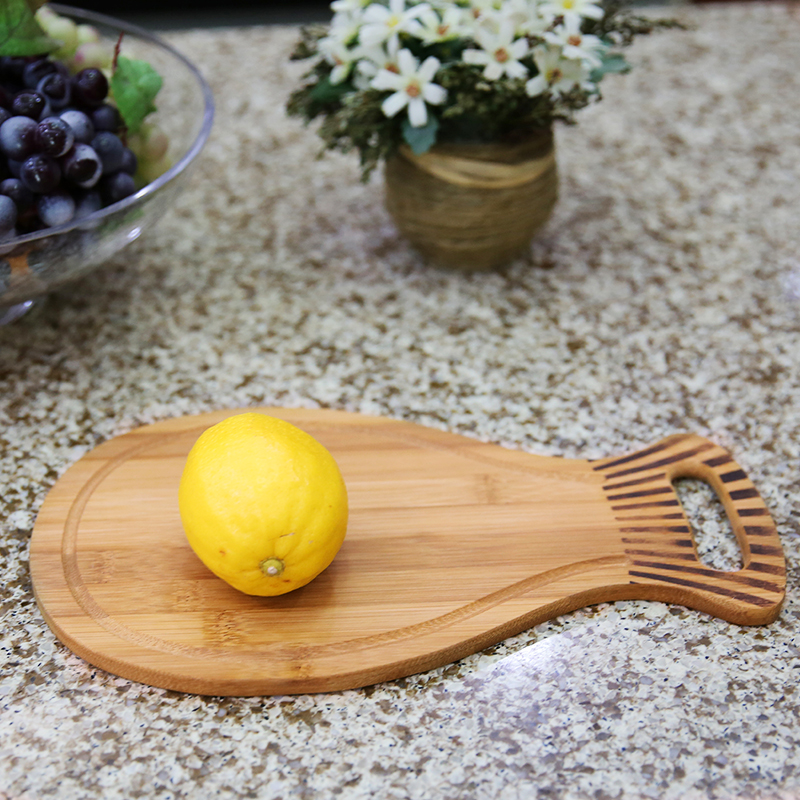 Natural Bamboo Cutting Board Chopping Block 4