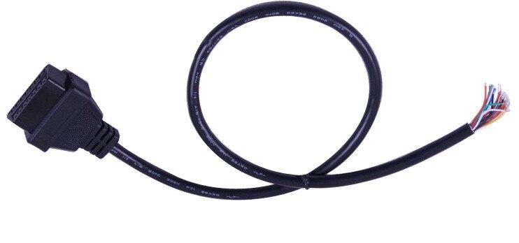 5 шт./лот 60 см J1962f OBD2 16pin гнездовой разъем для того, чтобы открыть OBD кабель
