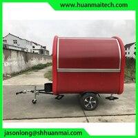 Передвижной пищевой фургон прицеп для кейтеринга концессионный трейлер
