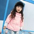 Grandwish crianças princesa estilo da roupa do bebê com capuz para baixo crianças jaqueta de inverno sólida casaco quente casacos meninas 18 m-8 t, SC346