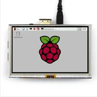Weikdez 5 Inch 800x480 HDMI TFT LCD Touch Screen For Raspberry PI 3 2 Model B