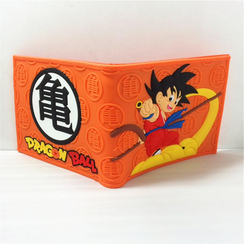 2018 New 2016 Fashion Dragon Ball Z Wallet Japanese Anime Son Goku Shenron Cartoon Wallet Purse Short Wallet For Men Women W359 2016 new arriving pu leather short wallet the price is right and grand theft auto new fashion anime cartoon purse cool billfold