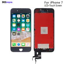 For iPhone 7 LCD Display Touch Screen Digitizer Replacement Parts For iPhone 7 LCD Display Phone Parts Free Tools new 7 for texet tm 7086 lcd display screen 164 100mm tablet pc repairment parts free shipping